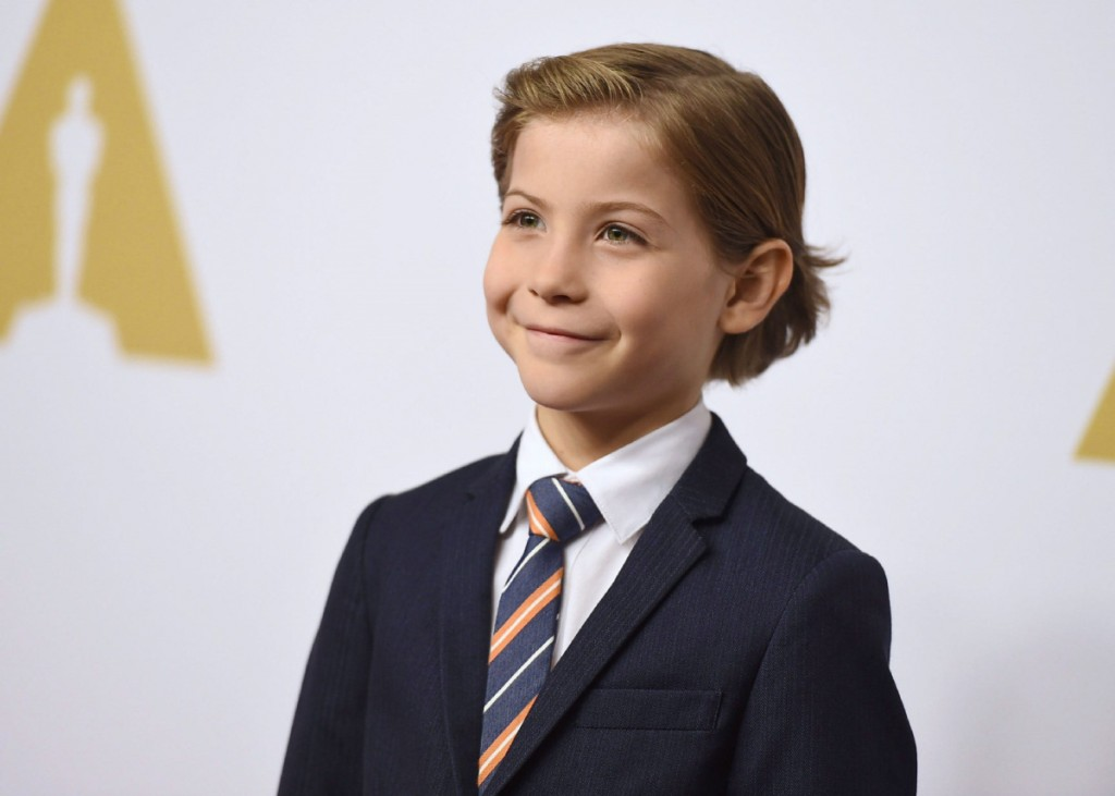 """EDS NOTE A FEB.8, 2016  FILE PHOTO Jacob Tremblay arrives at the 88th Academy Awards Nominees Luncheon at The Beverly Hilton hotel on Monday, Feb. 8, 2016, in Beverly Hills, Calif. If you ask """"Room"""" director Lenny Abrahamson, Tremblay gave one of the best performances of the year as a five-year-old who gradually learns he's spent his entire life in captivity.THE CANADIAN PRESS/Photo by Jordan Strauss/Invision/AP"""